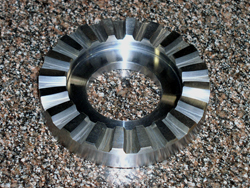 Curvic Coupling produced by Arrow Gear