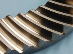 Spiral Bevel Gear Teeth produced by Arrow Gear