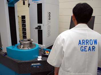 Wenzel CNC Bevel Gear Inspection at Arrow Gear